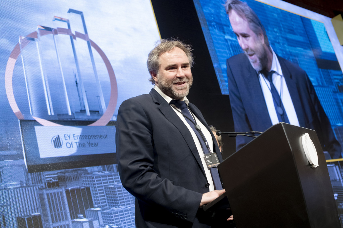 Ernst & Young otorga a Antonio Horrach, director general HM Hotels, el premio nacional Emprendedor Emergente del año 2019